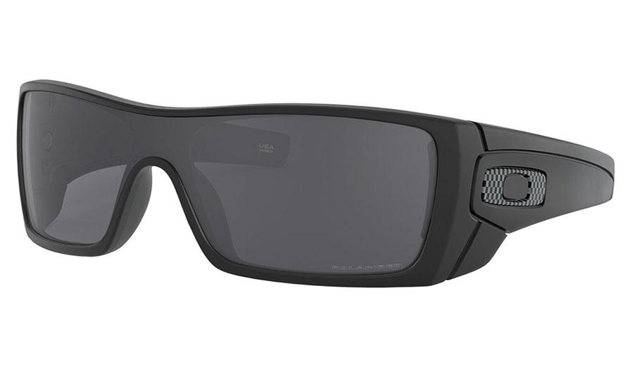 Oakley Batwolf Sunglasses - Matte Black / Grey Polarised