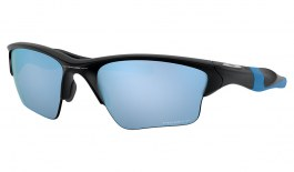 Oakley Half Jacket 2.0 XL Sunglasses - Matte Black / Prizm Deep Water Polarised