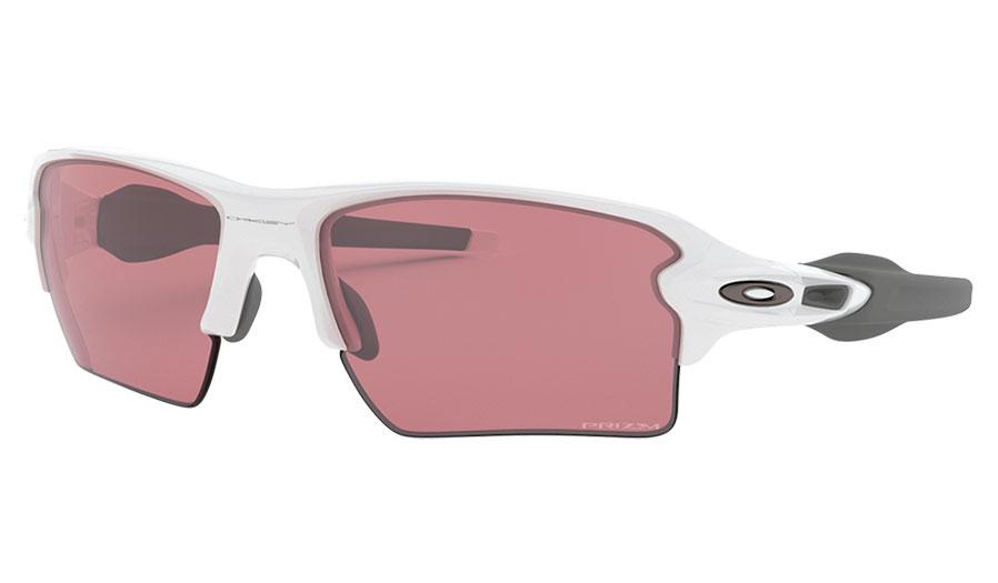 Oakley Flak 2.0 XL Sunglasses - Polished White / Prizm Dark Golf
