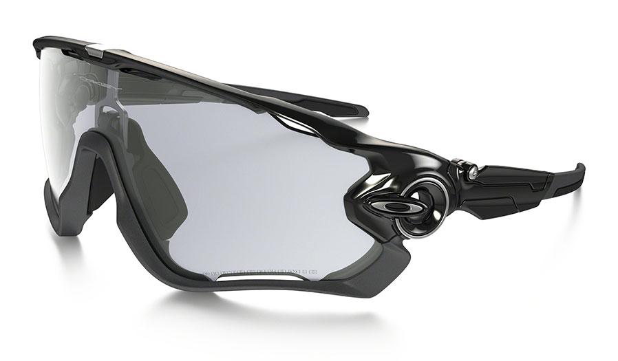 d99c98902df Oakley Jawbreaker Sunglasses - Polished Black   Clear Black Iridium  Photochromic - RxSport