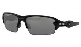 Oakley Flak 2.0 Sunglasses - Polished Black / Black Iridium Polarised
