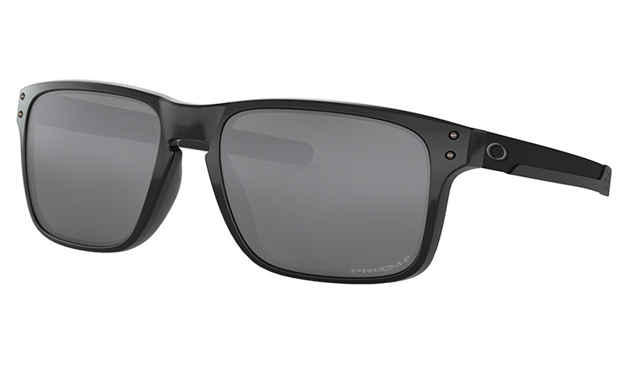 Oakley Holbrook Mix Sunglasses - Polished Black / Prizm Black Polarised