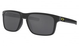 Oakley Holbrook Mix Sunglasses - VR46 Collection Matte Black / Prizm Black Polarised