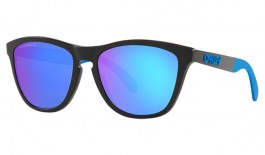 Oakley Frogskins Mix Sunglasses - Matte Black / Prizm Sapphire Polarised