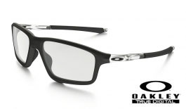 Oakley Crosslink Zero Prescription Glasses - Matte Black - Oakley Lenses