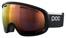 POC Fovea Clarity Ski Goggles - Uranium Black / Spektris Orange