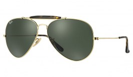 Ray-Ban RB3029 Outdoorsman II Sunglasses - Gold / Green (G-15)