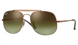 Ray-Ban RB3561 General Sunglasses - Bronze Copper / Green Gradient