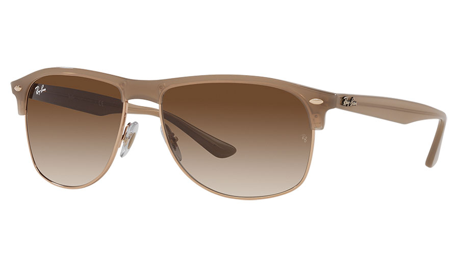 Ray-Ban RB4342 Sunglasses - Light Brown / Brown Gradient