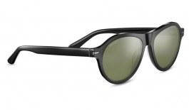 Serengeti Danby Sunglasses - Shiny Black / 555nm Polarised Photochromic