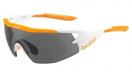 Bolle Aeromax Prescription Sunglasses - Matte White & Orange
