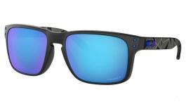Oakley Holbrook Sunglasses - Prizmatic Collection Matte Black / Prizm Sapphire Polarised