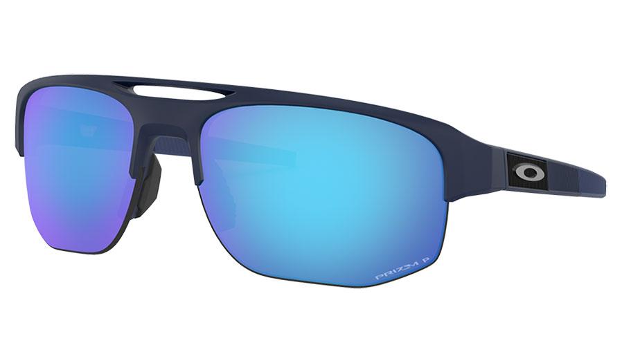 Oakley Mercenary Sunglasses - Matte Navy / Prizm Sapphire Polarised