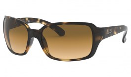 Ray-Ban RB4068 Sunglasses - Light Havana / Brown Gradient