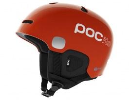 POC POCito Auric Cut SPIN Ski Helmet - Fluorescent Orange