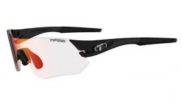 Tifosi Tsali Prescription Sunglasses - Clip-On Insert - Matte Black / Clarion Red Fototec