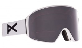 Anon M4 Cylindrical MFI Ski Goggles - White / Perceive Sunny Onyx + Perceive Variable Violet