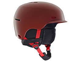 Anon Highwire Ski Helmet - Red
