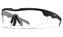 Wiley X Rogue COMM Sunglasses - Matte Black / Clear