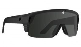 SPY Monolith 50/50 Sunglasses - Matte Black / HD+ Grey Green with Black Spectra Mirror