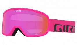 Giro Cruz Prescription Ski Goggles - Bright Pink Wordmark / Amber Pink