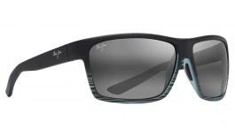 Maui Jim Alenuihaha Sunglasses - Grey Black Stripe / Neutral Grey Polarised