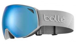 Bolle Torus Ski Goggles - Full Matte Grey / Volt Ice Blue