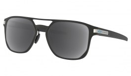 Oakley Latch Alpha Prescription Sunglasses - Matte Silver (Satin Chrome Latch)