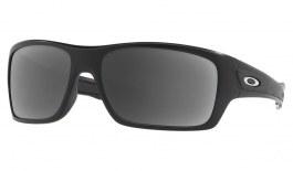 Oakley Turbine Prescription Sunglasses - Matte Black (Satin Chrome Icon)