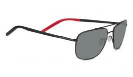 Serengeti Tellaro Prescription Sunglasses - Gloss Black & Red
