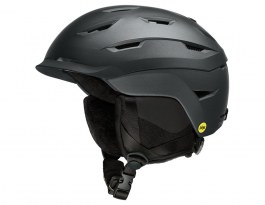 Smith Liberty MIPS Ski Helmet - Matte Black Pearl