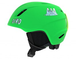 Giro Launch Ski Helmet - Matte Bright Green Tagazoo