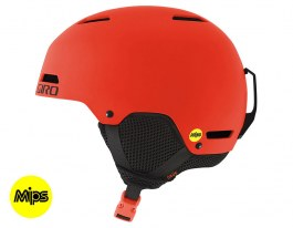 Giro Crue MIPS Ski Helmet - Matte Vermillion