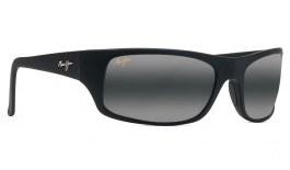 Maui Jim Peahi Prescription Sunglasses - Matte Black