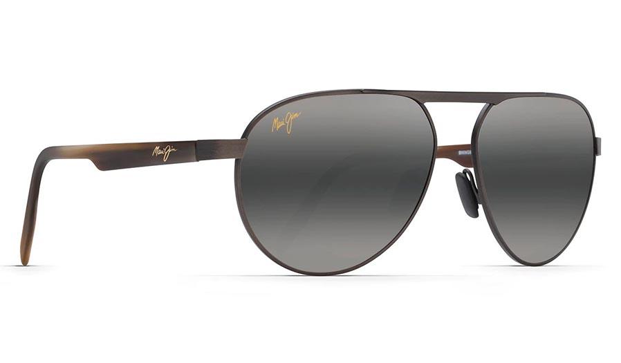 Maui Jim Swinging Bridges Prescription Sunglasses - Brushed Chocolate