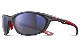 Julbo Race 2.0 Sunglasses - Translucent Black & Red / Reactiv Nautic Polarised Photochromic