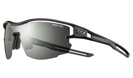 Julbo Aero Prescription Sunglasses - Clip-On Insert - Translucent Black & Army / Reactiv Performance 0-3 Photochromic