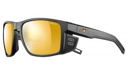 Julbo Shield Sunglasses - Matte Black / Reactiv Performance 2-4 Gold Photochromic