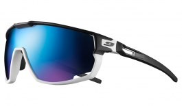 Julbo Rush Sunglasses - Black & White / Spectron 3 CF Blue