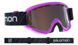 Salomon Juke Ski Goggles - Pink (Access Edition) / Universal Tonic Orange