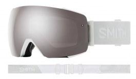 Smith I/O MAG Ski Goggles - White Vapor / ChromaPop Sun Platinum Mirror + ChromaPop Storm Rose Flash