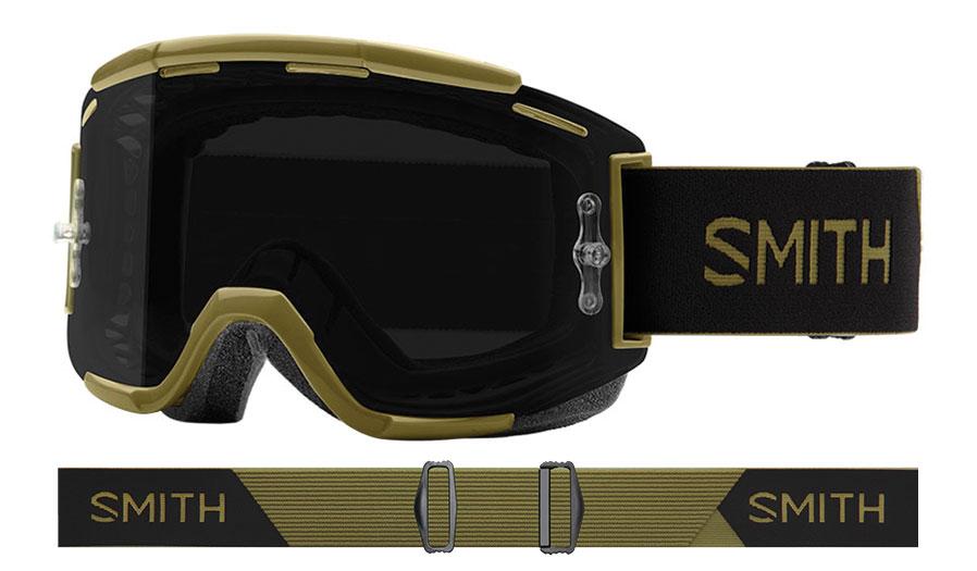 Smith Squad MTB Prescription Goggles - Mystic Green / ChromaPop Sun Black + Clear