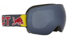 Red Bull Magnetron Ski Goggles - Matte Grey / Silver Snow + Cloudy Snow