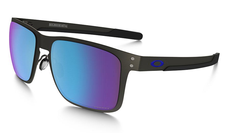 9b6e850dbc Oakley Holbrook Metal Sunglasses - Matte Gunmetal   Prizm Sapphire Iridium  Polarised - RxSport