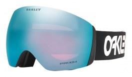 Oakley Flight Deck XL Prescription Ski Goggles - Factory Pilot Black / Prizm Sapphire Iridium