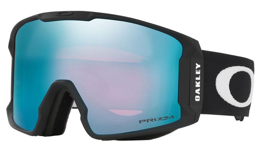 Oakley Line Miner XM Ski Goggles - Matte Black / Prizm Sapphire Iridium