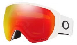 Oakley Flight Path XL Ski Goggles - Matte White / Prizm Torch Iridium