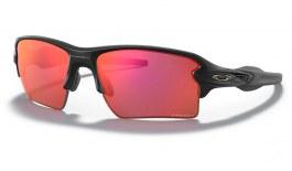 Oakley Flak 2.0 XL Sunglasses - Matte Black / Prizm Trail Torch