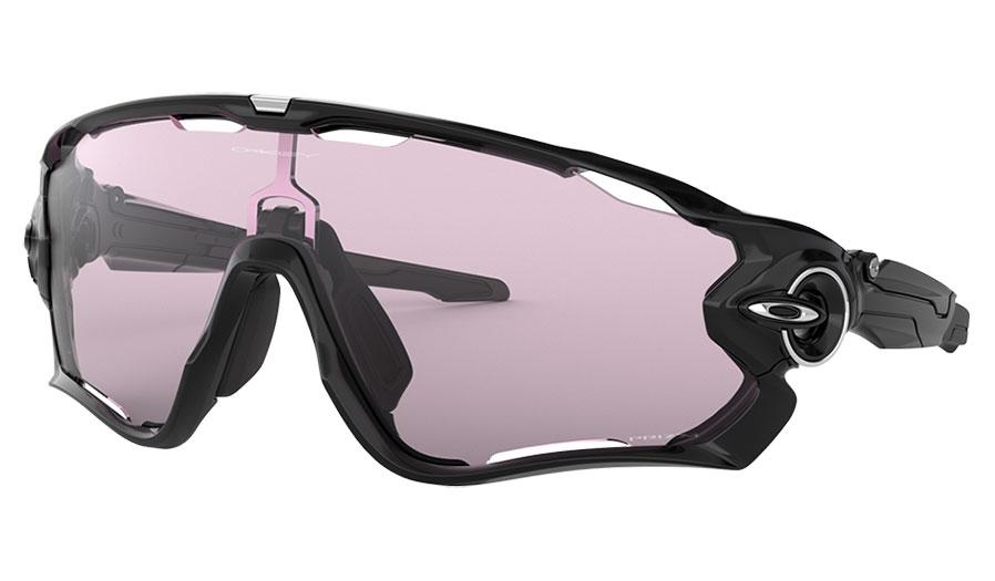 Oakley Jawbreaker Sunglasses - Polished Black / Prizm Low Light