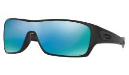 Oakley Turbine Rotor Sunglasses - Polished Black / Prizm Deep Water Polarised